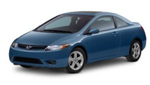 honda civic coupe pic