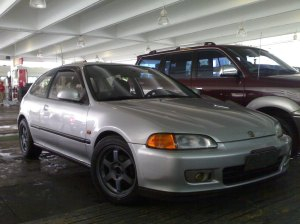 honda civic hatch pic