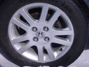 honda civic rims pic