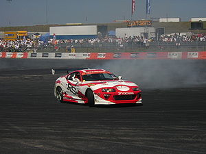 toyota supra drifting picture